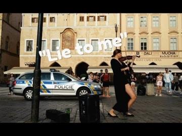 Lie to me - Iryna Marchak Violinist (Mikolas Josef cover)
